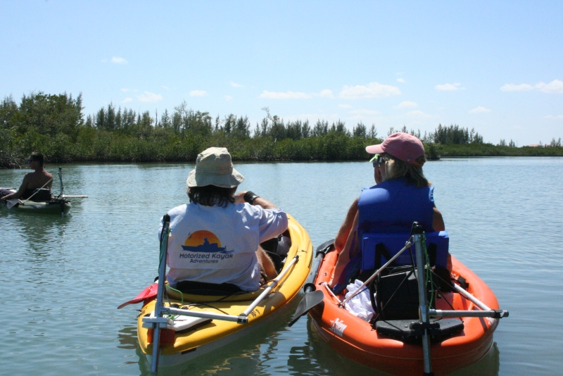 What is a Motorized Kayak?